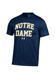 Under Armour Notre Dame Fighting Irish Navy Blue Arch Tee