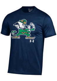 Under Armour Notre Dame Fighting Irish Navy Blue Big Mascot Tee