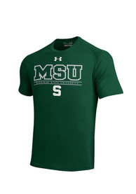 Under Armour Michigan State Spartans Green MSU Tee