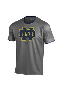 Under Armour Notre Dame Fighting Irish Grey Huddle Tee Tee