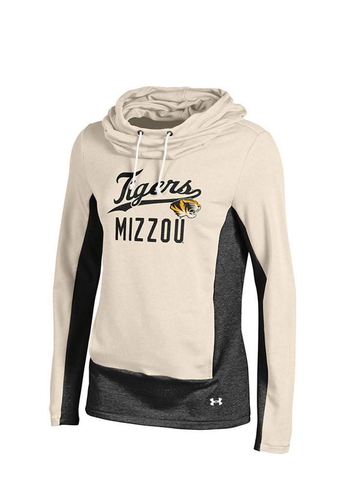 Under Armour Missouri Tigers Womens Ivory CFE Hoodie 55290376