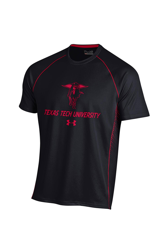 Under Armour Texas Tech Mens Black SMU Performance Tee 55290473