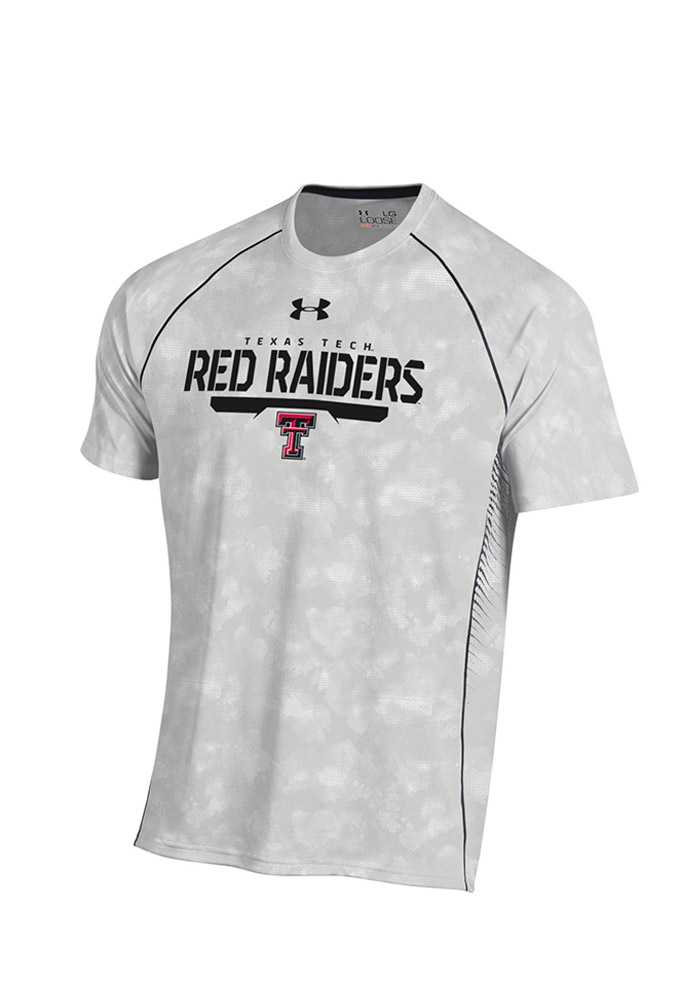 Under Armour Texas Tech Mens Grey Limitless Performance Tee 55290474