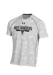 Under Armour TTech Red Raiders Mens grey Limitless Performance T-Shirt