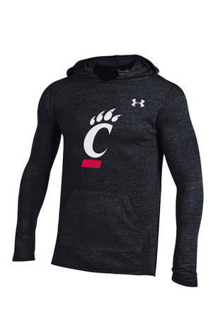 Under Armour Cincinnati Mens Black Triblend Hoodie