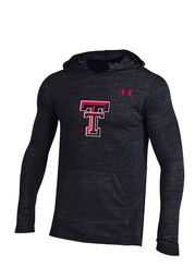 Under Armour Texas Tech Mens Black Triblend Hoodie