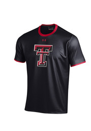 Under Armour TTech Red Raiders Youth black Huddle Performance T-Shirt