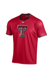 Under Armour TTech Red Raiders Youth red Huddle Performance T-Shirt