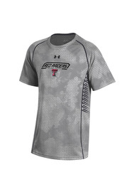 Under Armour TTech Red Raiders Youth grey Limitless Performance T-Shirt
