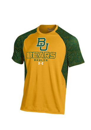 Under Armour Baylor Mens Gold Performance Tee