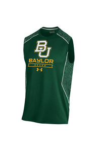 Under Armour Baylor Bears Green Apex All Over Print Tank Top