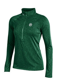 Under Armour NW Mo State Bearcats Womens Grainy Tech green 1/4 Zip Pullover