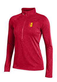 Pitt State Gorillas Womens Under Armour Grainy Tech 1/4 Zip - Red