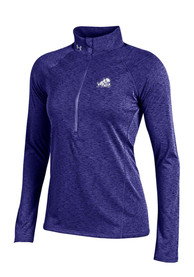 Under Armour TCU Horned Frogs Womens Grainy Tech Purple 1/4 Zip Pullover