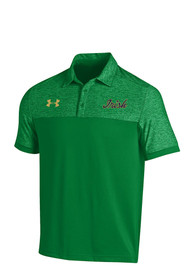 Notre Dame Fighting Irish Under Armour Podium Polo Shirt - Green