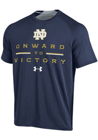 Under Armour Notre Dame Fighting Irish Navy Blue SMU Tee