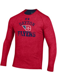 Under Armour Dayton Flyers Red Charged SMU Tee