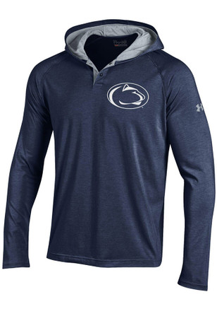 Under Armour Penn State Nittany Lions Mens Charged Henley SMU Hood