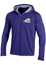 Under Armour TCU Horned Frogs Charged Henley SMU Hood