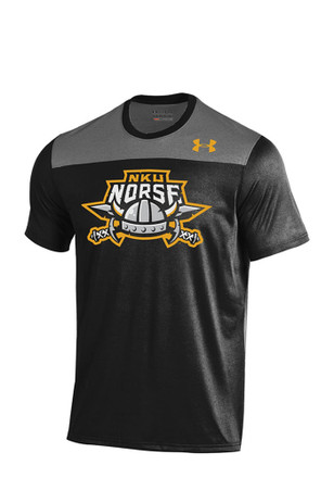 Under Armour NKU Norse Mens Black Foundation Tech T-Shirt