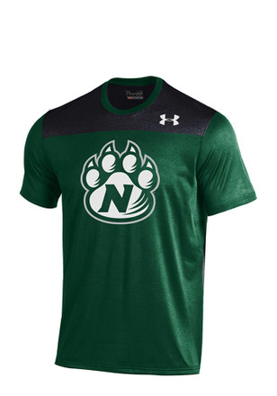 Under Armour NW Mo State Bearcats Mens forestgreen Foundation Tech T-Shirt