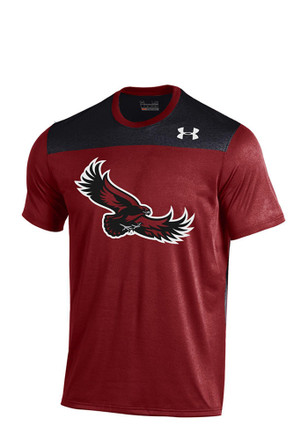 Under Armour Saint Joseph's Mens Red Foundation Tech Performance Tee