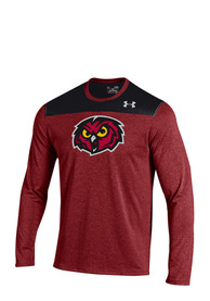 Under Armour Temple Owls Cardinal Foundation Tech Tee