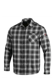 Under Armour Texas Tech Red Raiders Mens Black Status Woven Dress Shirt