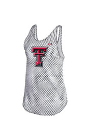Under Armour Texas Tech Red Raiders Womens White Tank Top