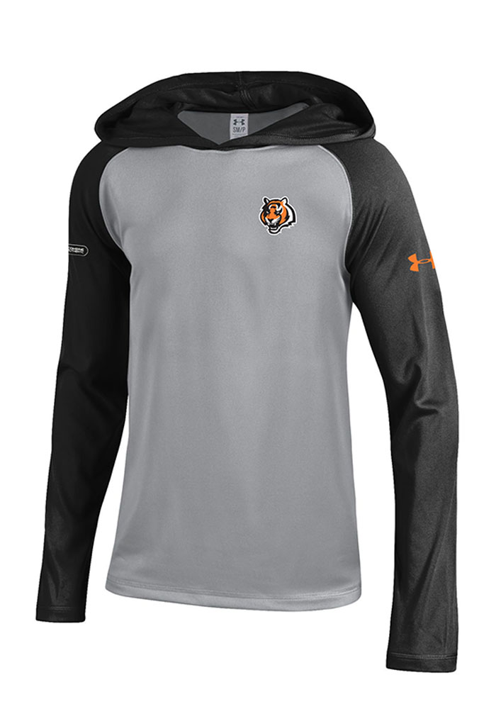 Under Armour Cincinnati Kids Grey Tech Hooded Sweatshirt 55291222