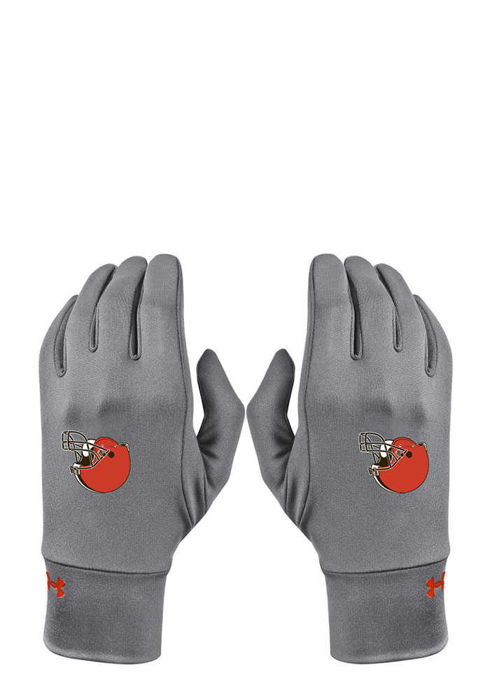 Under Armour Cleveland Browns Liner Womens Gloves - Image 1