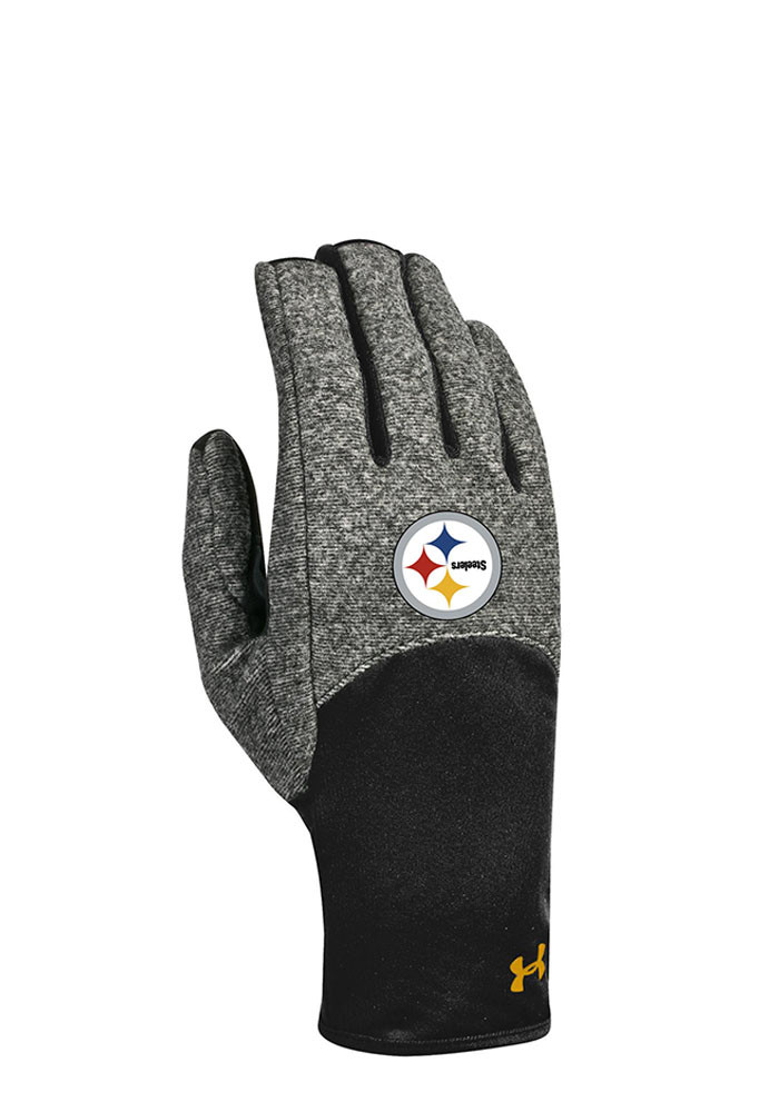 Under Armour Pittsburgh Steelers Survivor Womens Gloves - Image 1