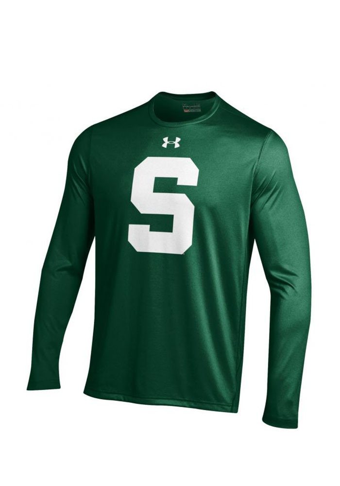 Under Armour MSU Mens Green Tech Performance Tee 55291316