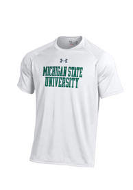 Under Armour Michigan State Spartans White Tech Tee