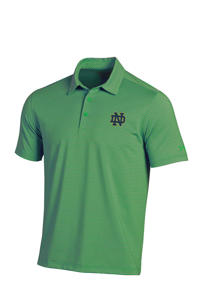 Under armour notre dame fighting irish mens green kirkby for Under armour shirts at walmart