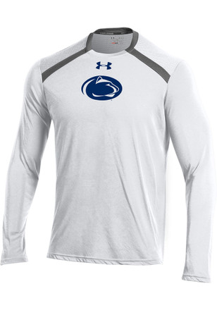 Under Armour Penn State Nittany Lions Mens White Threadborne Sweatshirt