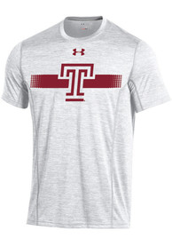 Under Armour Temple Owls White Training Tee
