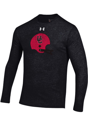 Under Armour Cincinnati Bearcats Mens Black Triblend Tee