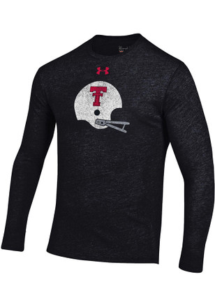 Under Armour Texas Tech Red Raiders Mens Black Triblend Tee