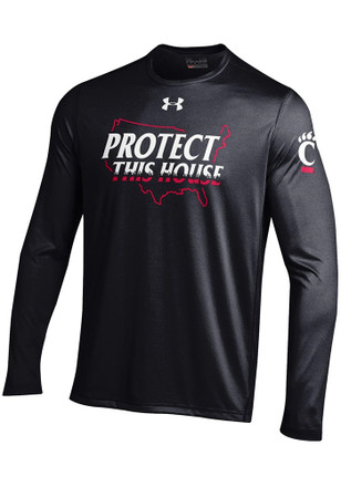 Under Armour Cincinnati Bearcats Mens Black Military Appreciation Tee