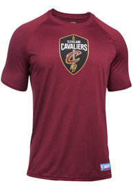 Under Armour Cleveland Cavaliers Maroon Authentic Tee
