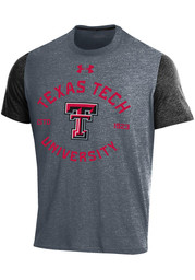 Under Armour Texas Tech Red Raiders Red Basketball Short Sleeve T ... 199bad0a7