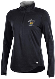 Under Armour Wichita State Shockers Womens Charged Cotton Black 1/4 Zip Pullover