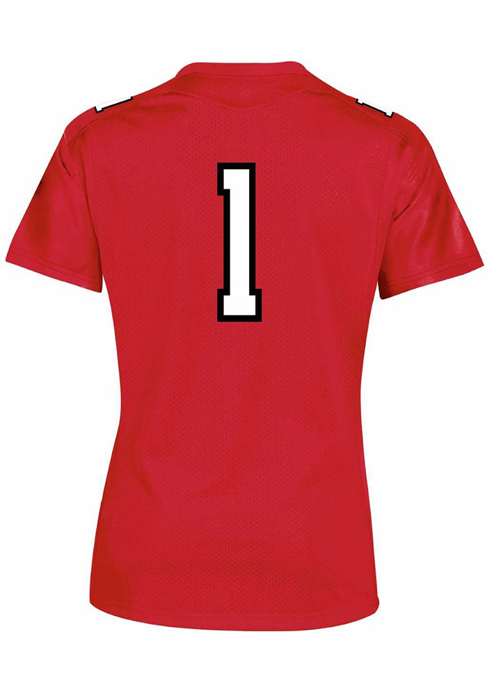 Under Armour Texas Tech Red Raiders Womens Red Jersey Football Jersey - Image 2