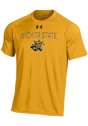 Under Armour Wichita State Shockers Mens Gold Tech Tee