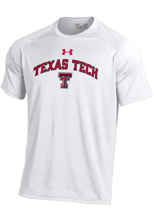 Under Armour Texas Tech Red Raiders Mens White Tech Tee