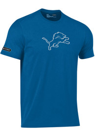 Under Armour Detroit Lions Blue Primary Logo Tee