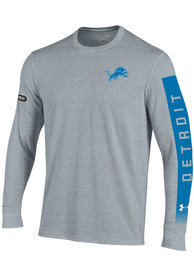 Under Armour Detroit Lions Grey City Name Long Tee