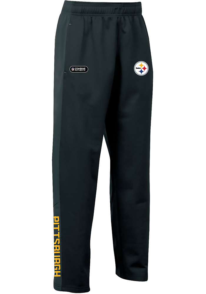Under Armour Pittsburgh Steelers Youth Black Brawler Track Pants - Image 1