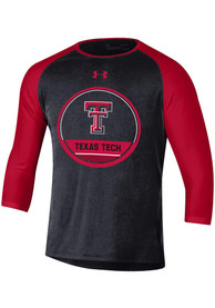 8909fc45c Under Armour Texas Tech Red Raiders Black Freestyle Half Sleeve Tee